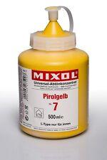 Mixol Nr.7 pirolgelb 0,5l Abtönfarbe Pigment Abtönkonzentrat Universal