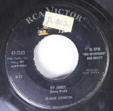 50'S/60'S 45 Jeanie Johnson - My Jimmie / Next Thing To Paradise On Rca Victor