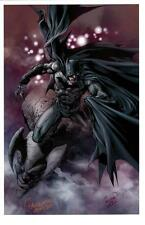 "CARLO PAGULYAN - BATMAN - DARK KNIGHT ART PRINT - SIGNED HTF 11""x17"""