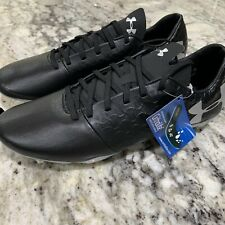 Under Armour UA Team Magnetico Pro Hybrid Soccer Cleat 3021839-001 Size 10 Black