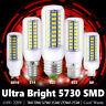 BOMBILLA E27 LED SMD 5730 BLANCO PURO 110 220V ALTA LUMINOSIDAD E27 E14 G9 7-25W