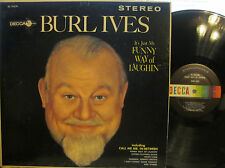 "Burl Ives - It's Just My Funny Way of Laughin'  (Decca 74279) (""Mr. In-Between"")"