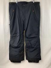 Obermeyer Mens Navy Blue Black Ski Snowboard Snow Pants Size 2X