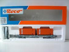 """ROCO H0 46560 Einheitstaschenwagen TRW """"CMB"""" OVP M377 SELTEN"""