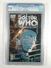 IDW Publishing Doctor Who Prisoners Of Time #1 CGC 9.8 NM - White Pages