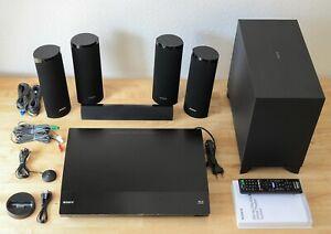 Sony BDV-E380 5.1 3D Blu-ray CD DVD Heimkino Home Theatre WLAN iPod
