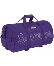 Supreme Duffle Bag Purple Box Logo BRAND NEW 100% Authentic SOLD OUT RARE FW18B9