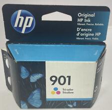 HP 901 Tri-Color Original Ink 7/2023