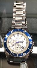 Bulova Marine Star Stainless Steel Blue White  Chronograph Mens Watch 98B204