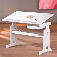 Kinderschreibtisch Schülerschreibtisch Schreibtisch Kind blau-rosa/weiss
