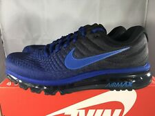 77746143f3878 Nike Air Max 2017 Deep Royal Blue Hyper Cobalt Mens Size 10.5 New 849559-401