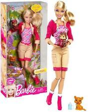 Nuevo Barbie Puedo Ser Zoo Keeper Jugar Muñeca Safari Animales Raro Regalo Diversión Actividad