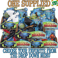 Dragons The Hidden World Dragon & Viking - ONE SUPPLIED YOU CHOOSE 5 TO COLLECT