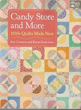 Quilt Instruction & Pattern Book-Candy Store & More-1930's Quilts Made Easy