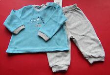 Baby Jungen  Schlafanzug 2 teilig Frottee GR.62/68 NEU mit Etikett