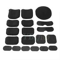 Protective EVA Pads Cushion Memory Foam For Airsoft Military Helmet LJ