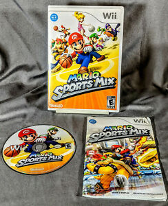 Super Mario Sports Mix - Nintendo Wii 2011 - Complete Tested Working CIB