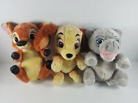 Disney Parks Babies Baby Bambi, Baby Hippo and Baby Lady Disneyland Walt Disney