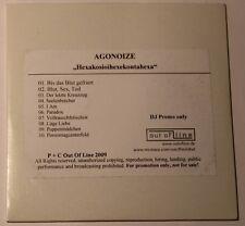 Agonoize – Hexakosioihexekontahexa CDr, Album, Promo  (2009)