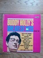 Buddy Holly – Buddy Holly's Greatest Hits Volume Two  CPS 47  Vinyl, LP, Comp