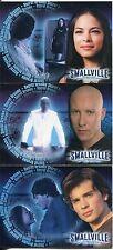Smallville Season 1 Complete Secret Dreams Chase Card Set BL1-3