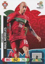 RAUL MEIRELES # PORTUGAL CARD PANINI ADRENALYN EURO 2012