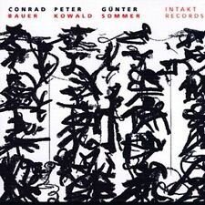 Between Heaven and Earth by Conrad Bauer (CD, Mar-2003, Intakt Records)