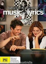 Music And Lyrics DVD BRAND NEW SEALED Hugh Grant Drew Barrymore Region 4
