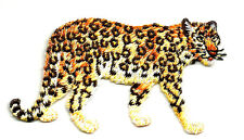Leopard - Wild Animal - Wild Cat - Embroidered Iron On Applique Patch