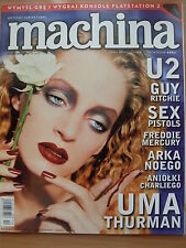 MACHINA:UMA THURMAN,U2,Sex Pistols,Freddie Mercury,Anita Lipnicka,Mark Wahlberg