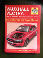 VAUXHALL VECTRA 1995-98' All Models Petrol & Diesel HAYNES MANUAL
