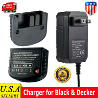 For Black+Decker 90592360-01 9.6V 12V 14.4 18V NiCd Slide HPB18 Battery Charger