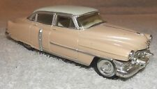 VINTAGE DIECAST--1952 PINK CADILLAC MODEL 62 4 DR by ERTL--1/43--FROM ESTATE