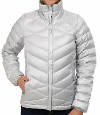 New The North Face Aconcagua Puffy Jacket Women's TNF Down Black / Grey / Purple
