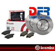 KBB54 DISCHI FRENO E PASTIGLIE BREMBO FIAT IDEA 1.3 JTD 51 kW dal 2003 ANTERIORE