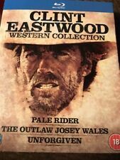 Clint Eastwood Western Collection (Blu-ray Region Free) Slipcover Factory Sealed