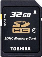 2 x Toshiba SDHC-Speicherkarte »N102« 32 GB, Class 4