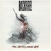 Backfire All Bets Are Off CD