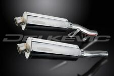 """Delkevic 14"""" Stainless Mufflers - Kawasaki Concours ZG1000 1986-2006 Exhaust"""