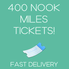 Animal Crossing New Horizons: 400 NOOK MILES TICKETS!✈️ NMT READ DESC!