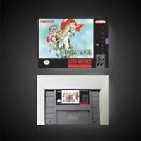 Tales of Phantasia USA Version With Retail Box RPG Game Battery Save Free Ship