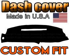 fits 1997 1998  GMC  SIERRA   DASH COVER MAT DASHBOARD PAD  /  BLACK