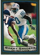 2001 Topps Archives Barry Sanders Detroit Lions #94 Football Card