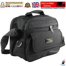 Mens Small Messenger Shoulder Cross Body Side Bag Satchel Work Travel Utility