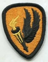 Vintage US Army Color Patch: Aviation School merrowed edge
