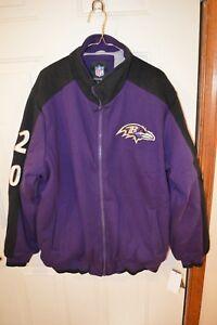 G-lll Baltimore Ravens Super Bowl Champions Coat XL