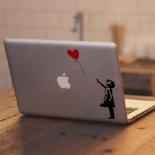 "Banksy The Girl With The Balloon for Macbook 11 12 13 15 17"" Vinyl Decal Sticker"