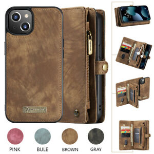Magnetic Wallet Leather Flip Case For iPhone 13 12 11 Pro Max XS XR 8 7 X Cover