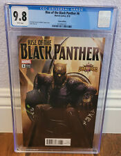 RISE OF BLACK PANTHER #6 (8/18) ~ CGC 9.8  ~ MARVEL COMICS GAME EDITION VARIANT