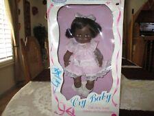 Vintage Horsman Rare Black Cry Baby Doll in Original Box
